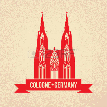 Cologne cathedral clipart #7