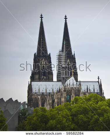 Koelner Dom Cologne Cathedral Koelne Germany Stock Photo 39623458.