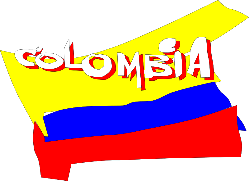 Colombia Clip Art Download.