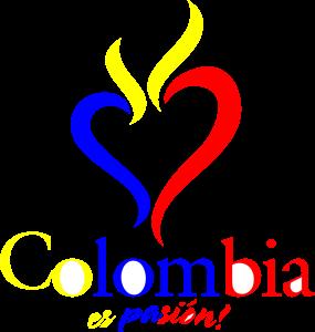 colombia es pasion _rojo Logo Vector (.AI) Free Download.