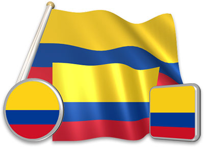 Colombian Animated Clipart.