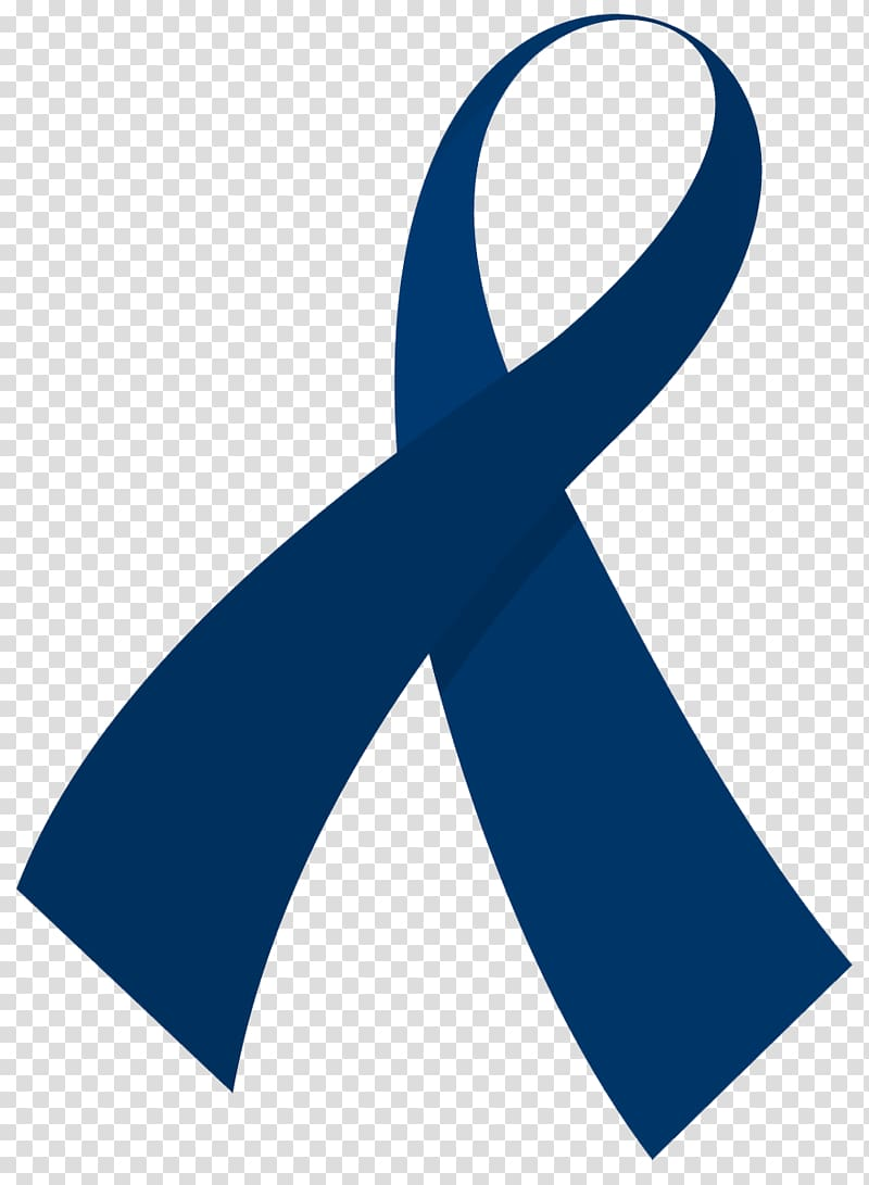 Awareness ribbon Colorectal cancer UAB Comprehensive Cancer.