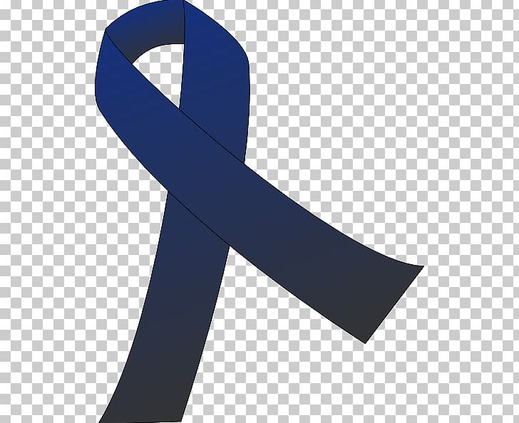 Awareness Ribbon Colorectal Cancer Large Intestine PNG.