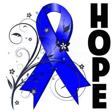 Ribbon For Colon Cancer Free Images.