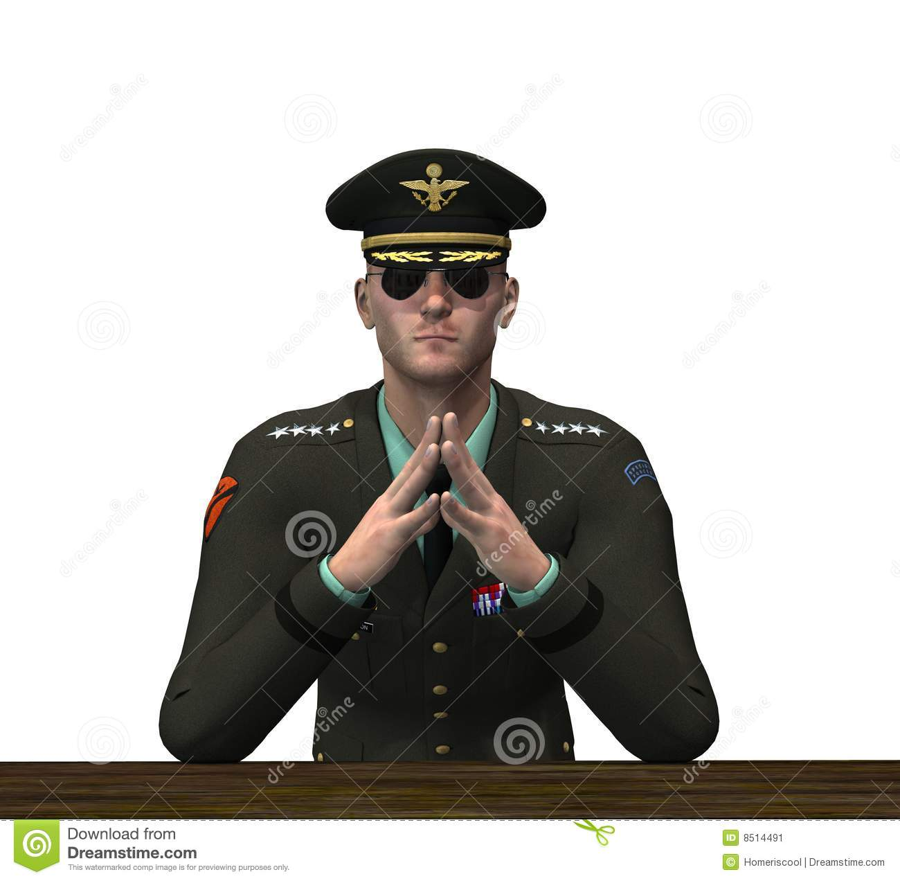 Army colonel clipart.