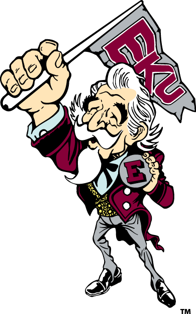 Eastern Kentucky Colonels mascot, the EKU Colonel.