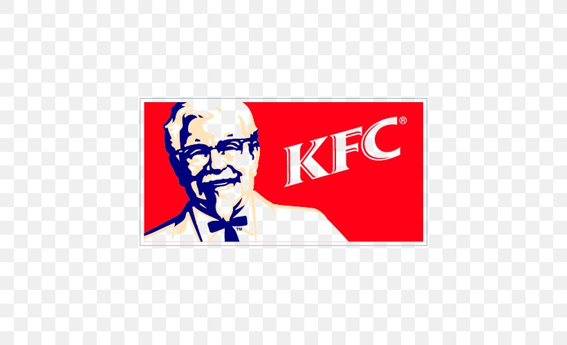 Colonel Sanders KFC Logo Fried Chicken, PNG, 500x500px.