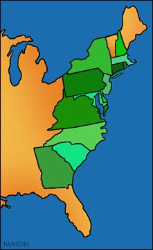 Free Colonial America Clip Art by Phillip Martin.