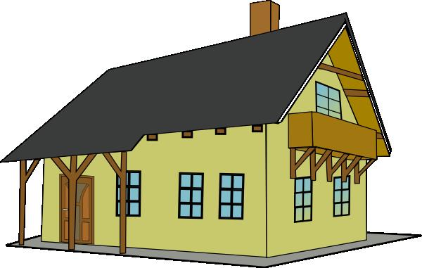 Clip art big house.