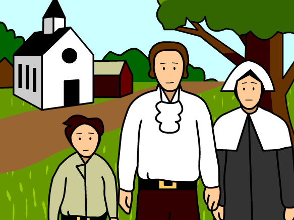 Colonial Clipart.