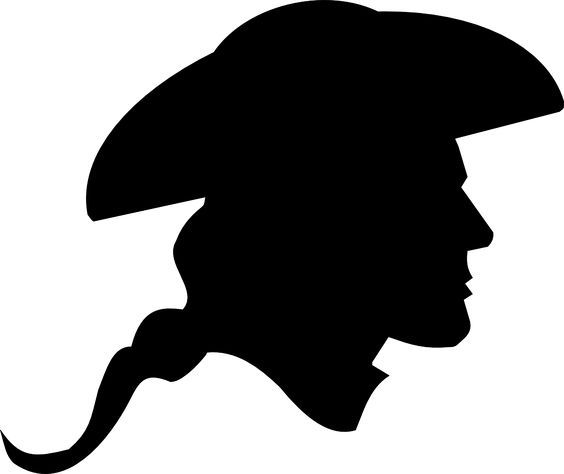 Image result for colonial woman profile silhouette.