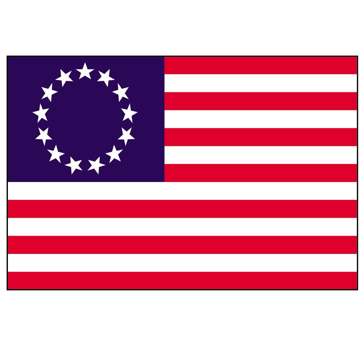 American Colonial Flag.