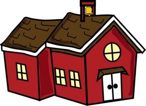Clip Art Colonial Home Clipart.