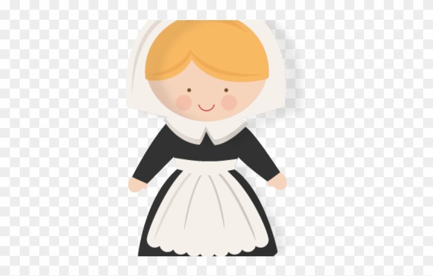 Pilgrim clipart child colonial, Pilgrim child colonial.