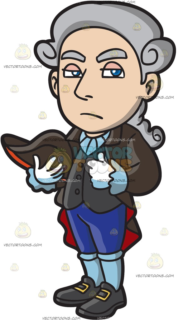 colonial man clipart #9