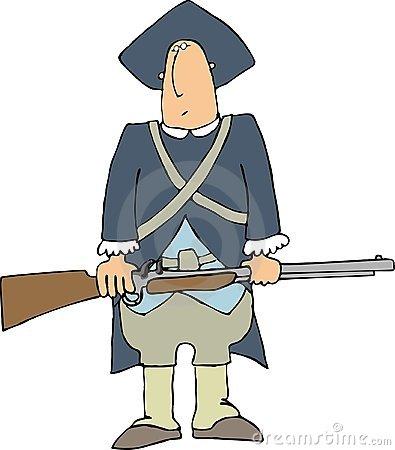 colonial man clipart #17