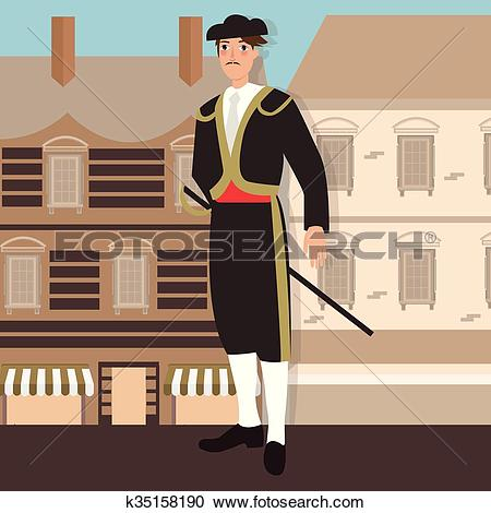Clipart of spanish spain costume mexico traditional hat clothes in.