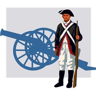 Colonial williamsburg clipart.
