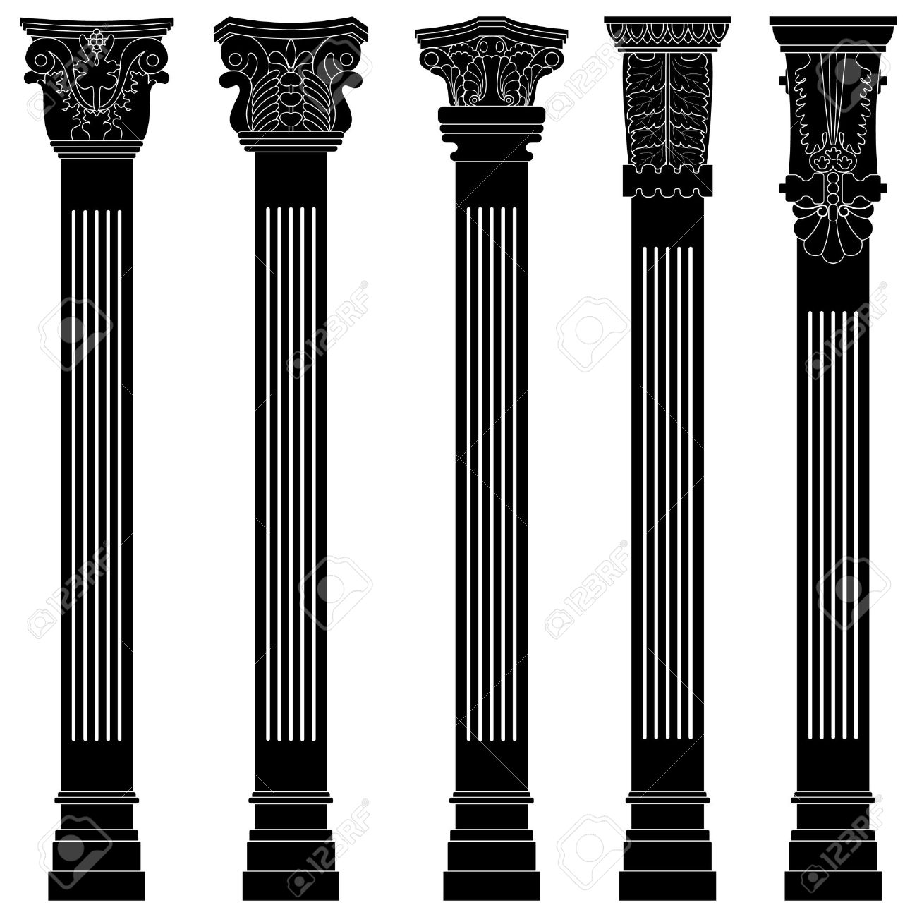 Pillars And Columns : Colonna clipart clipground