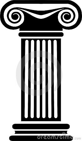Greek Columns Clip Art.