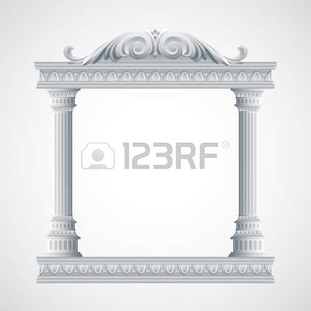 3,381 Colonnade Stock Vector Illustration And Royalty Free.