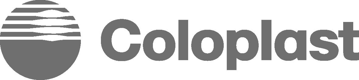 Coloplast logo.