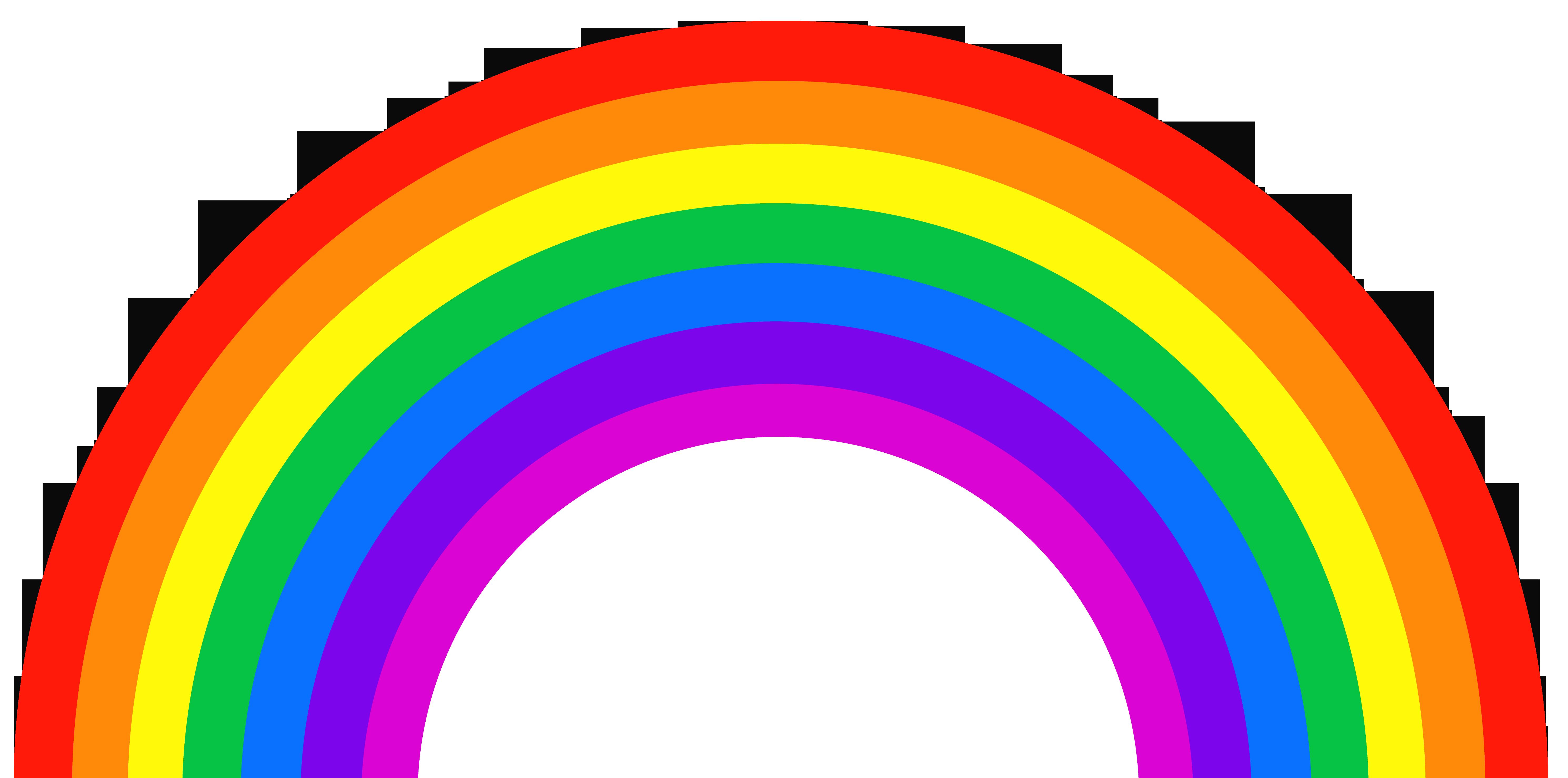 Rainbow Color ROYGBIV Light Orange.
