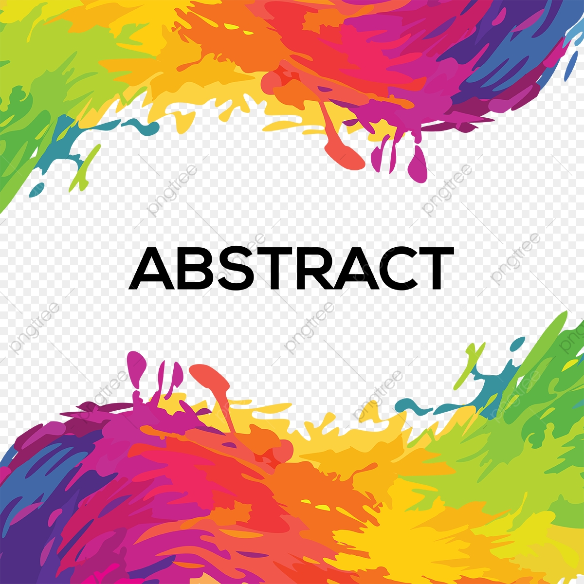 Abstract Festival Color Background, Abstract, Party PNG and Vector.
