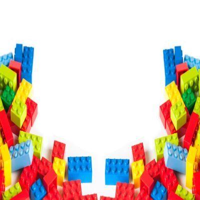 Color Block Borders Clipart.