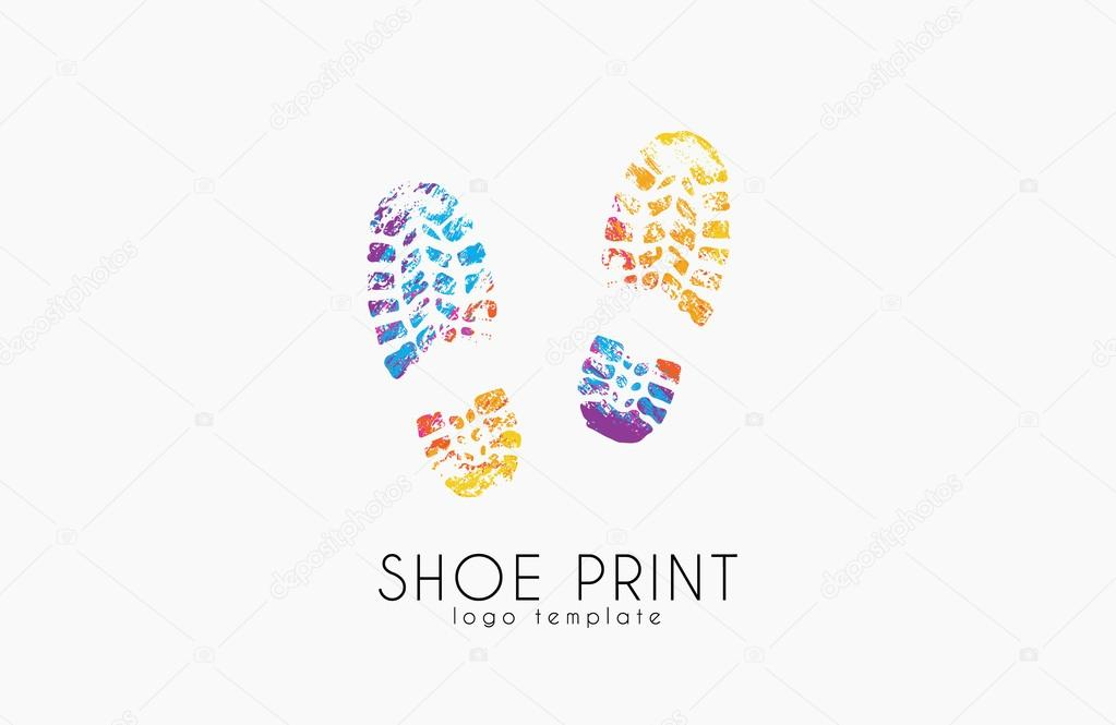 Color Boot Print Clipart Clipground