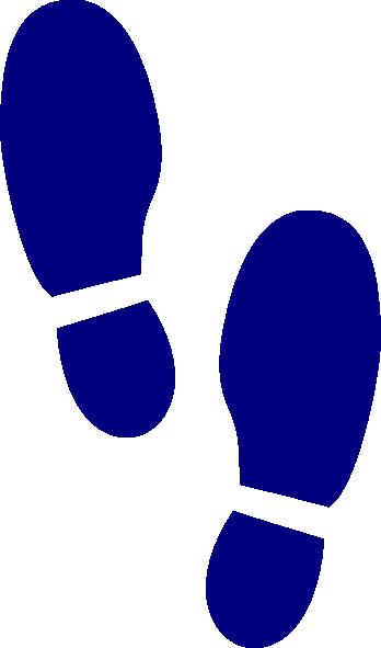 Shoe Print Clipart.