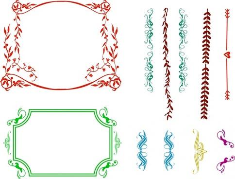Color border designs free vector download (32,970 Free vector) for.