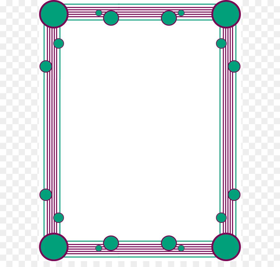 Color Border png download.