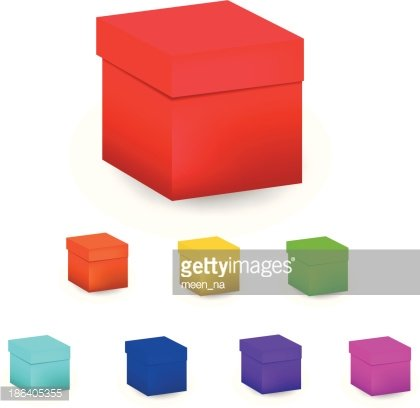 Color Box premium clipart.