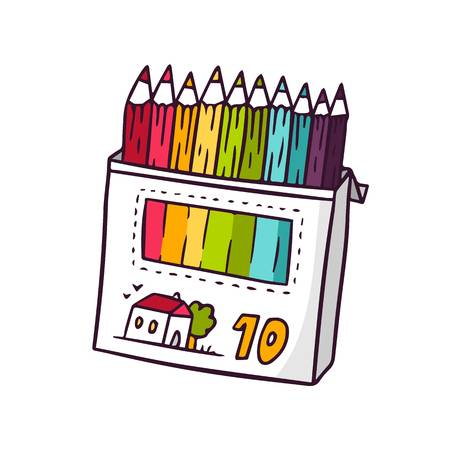16,472 Pencil Box Stock Illustrations, Cliparts And Royalty Free.