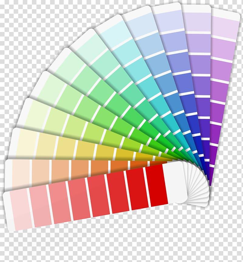 Test strip lot, CMYK color model Color chart Cdr, Color.
