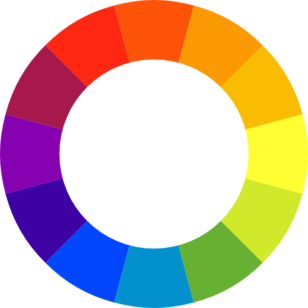Color Wheel Clip Art at Clker.com.