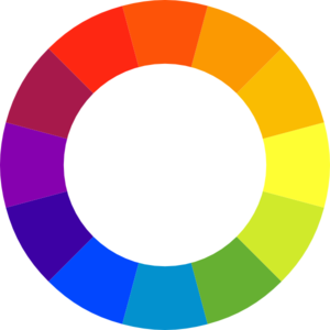 Color Wheel Clipart.