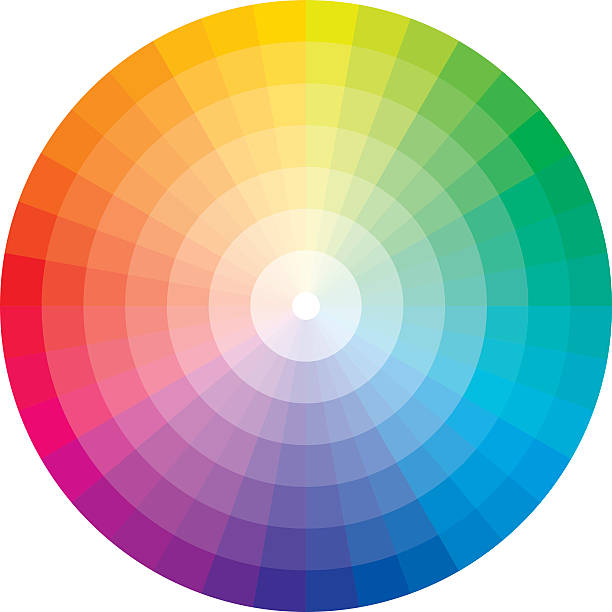 Best Color Wheel Illustrations, Royalty.