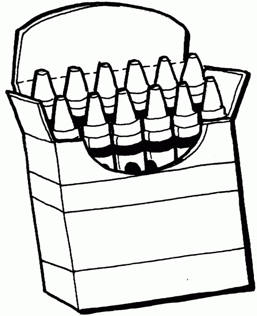 Clipart Black And White To Color.