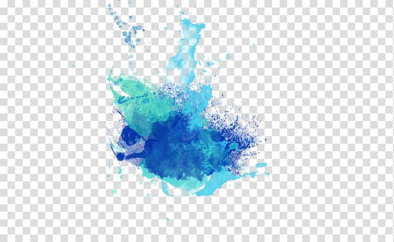 Blue color explosion, PicsArt Studio editing, others.