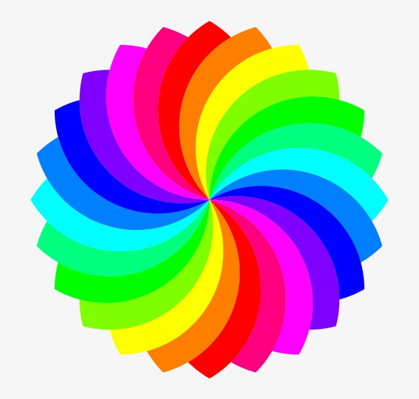 24 Football Flower 12 Color Free Vector.