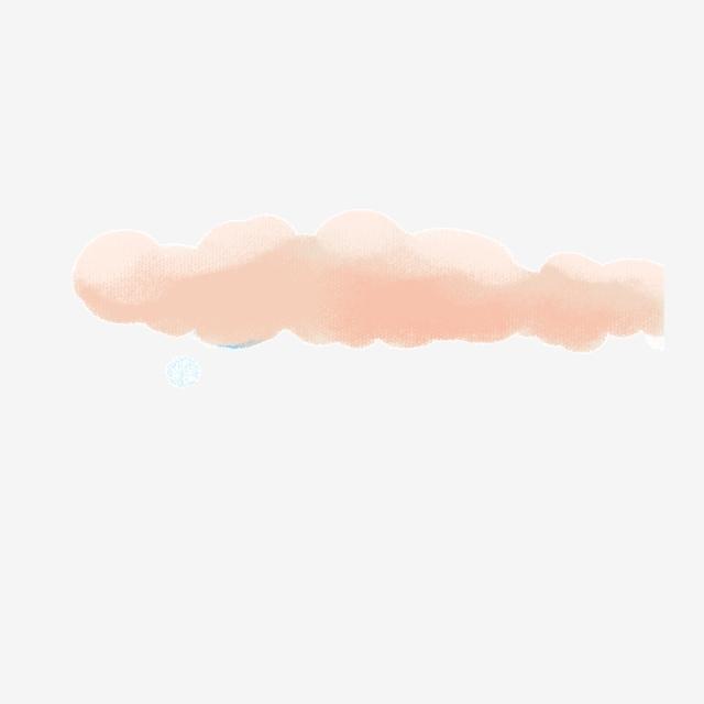 Cartoon Color Cloud Download, Cartoon Clouds, Colorful Clouds.