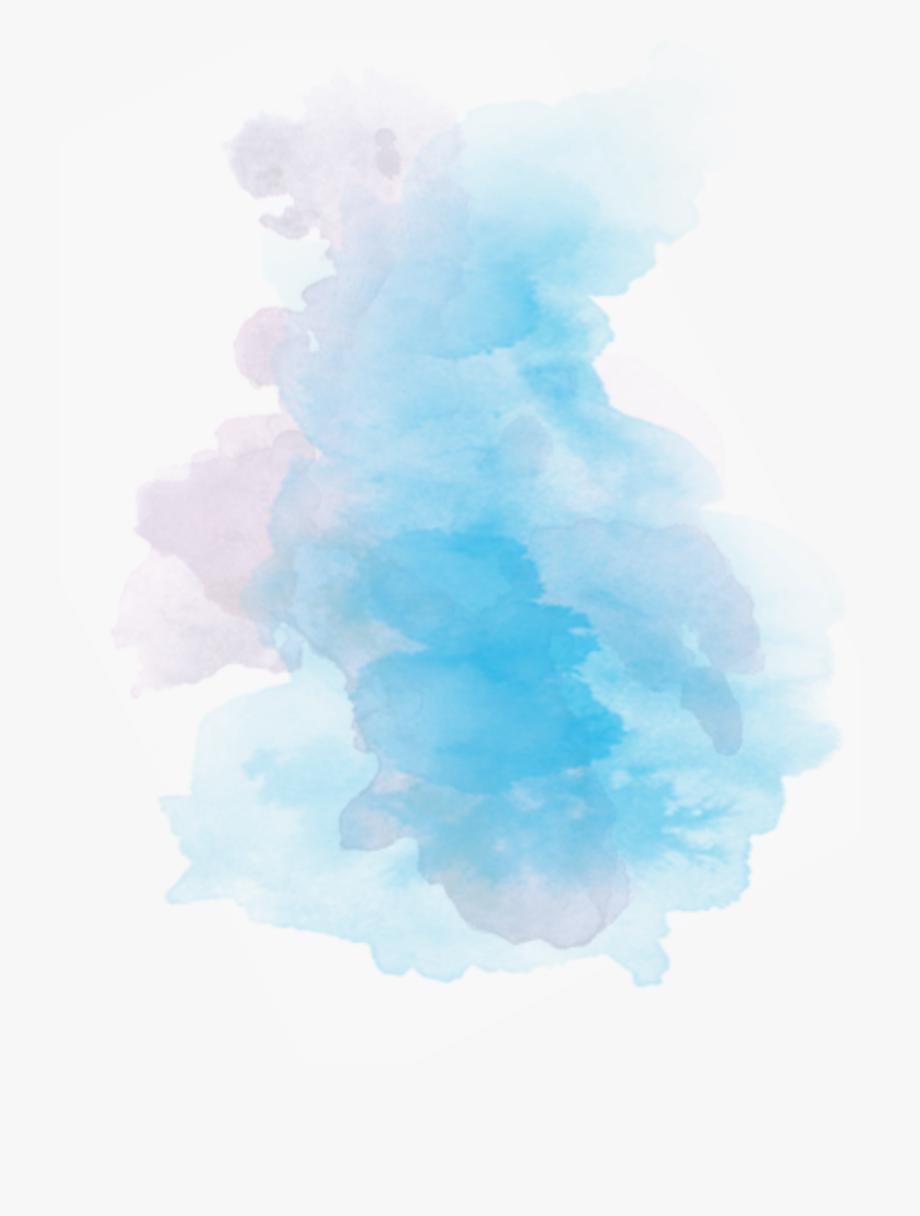 ftestickers #smoke #mist #blue.