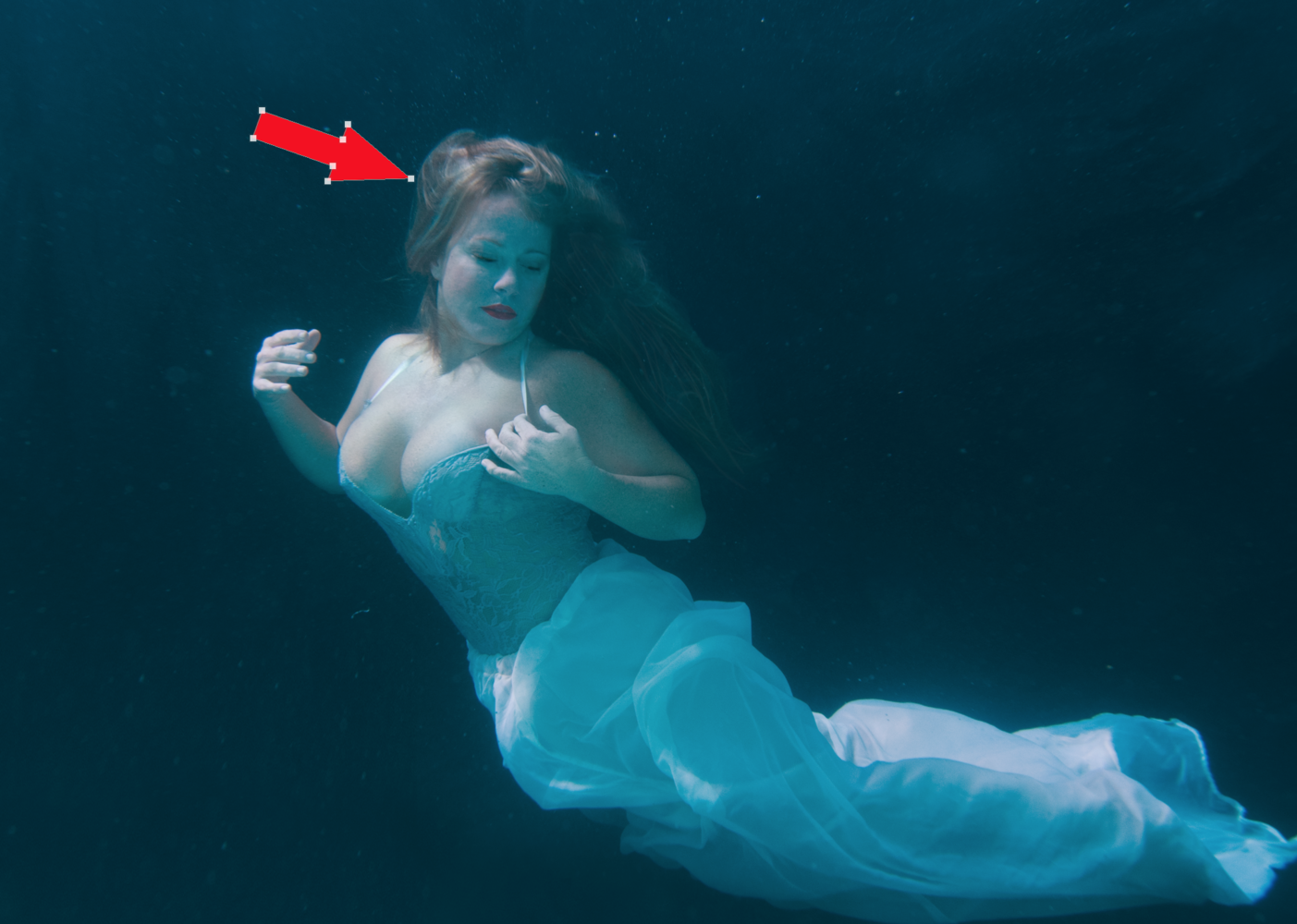 Color Correction and Helpful Tips For Underwater Boudoir Editing.