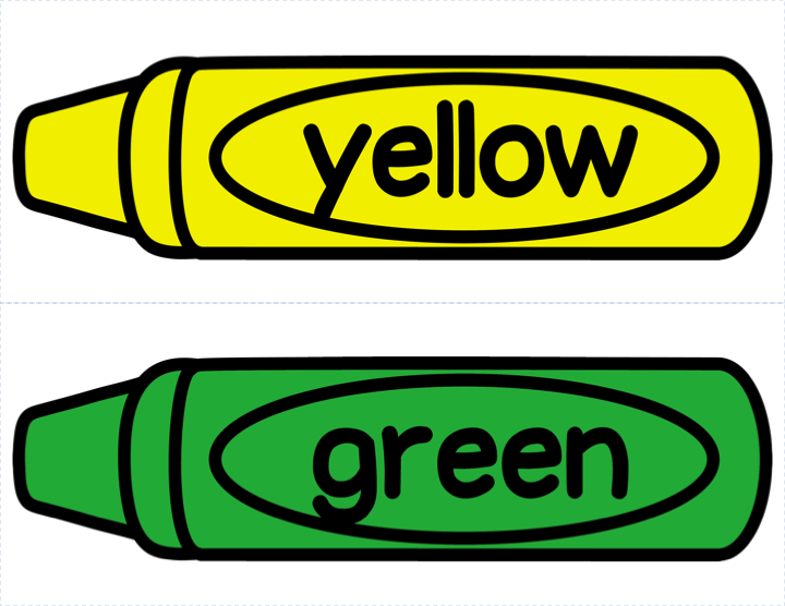 Color Crayons Clipart