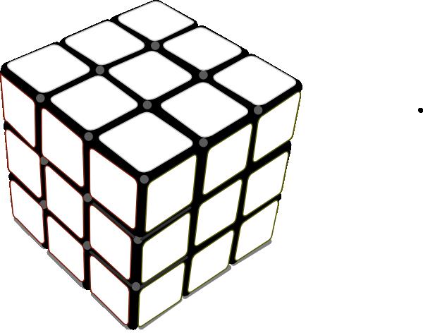 Rubiks cube clipart.