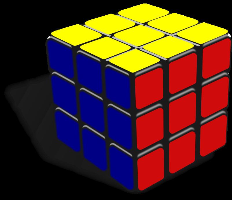 Rubik's Cube Clipart.