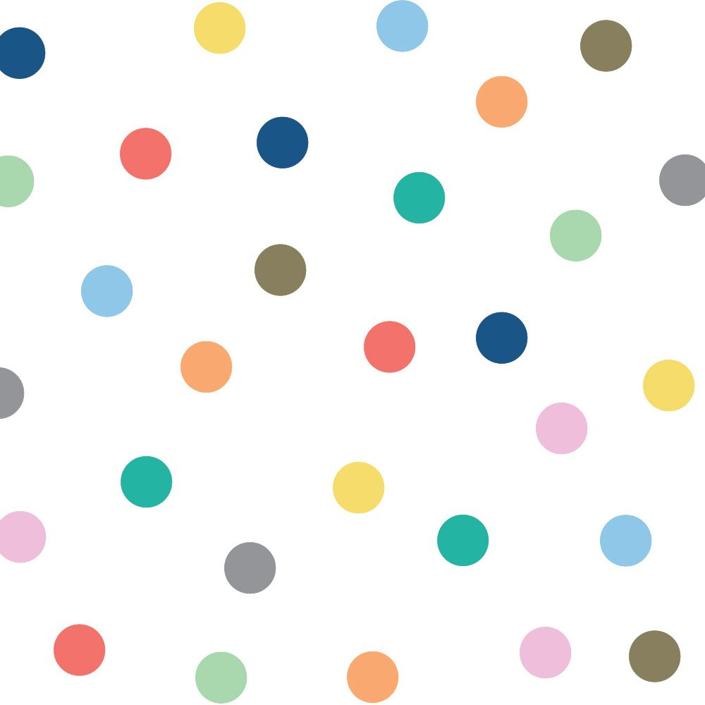 Color Dots Clipart.