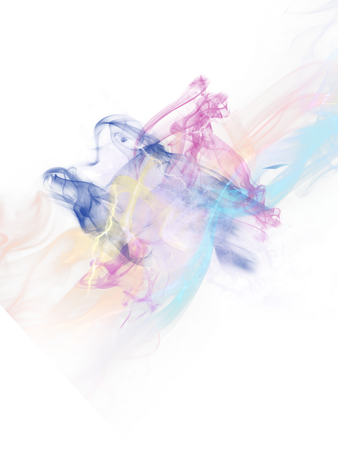 Color Smoke Effect PNG Download Image.